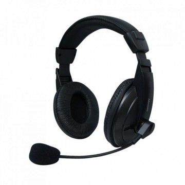 Set MSONIC casti microfon stereo, Negru Componente & Accesorii