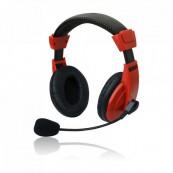 Set MSONIC casti microfon stereo, Rosu Componente & Accesorii