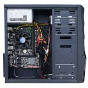 Sistem PC, Intel Celeron G1610 2.60GHz, 4GB DDR3, 120GB SSD, DVD-RW, CADOU Tastatura + Mouse