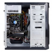 Sistem PC, Intel Core I3-2100 3.10GHz, 4GB DDR3, 120GB SSD, DVD-RW, CADOU Tastatura + Mouse
