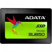 SSD ADATA Ultimate SU650, 240GB, 3D TLC NAND, 2.5 inch, SATA-III, ASU650SS-240GT-C Calculatoare