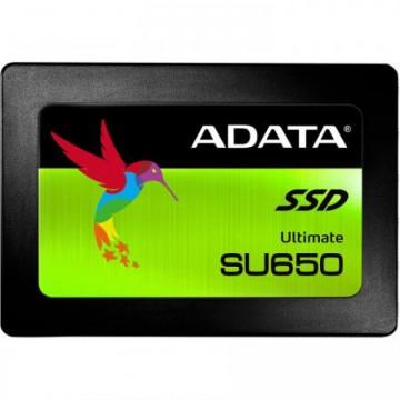 SSD ADATA Ultimate SU650, 240GB, 3D TLC NAND, 2.5 inch, SATA-III, ASU650SS-240GT-C