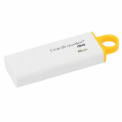 Stick Memorie USB Flash 8GB Data Traveler I G4, Galben, USB 3.0 Componente & Accesorii