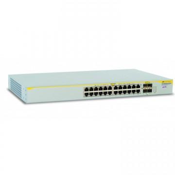Switch Allied Telesis AT-8000GS/24, 24 porturi Gigabit, Second Hand Servere & Retelistica