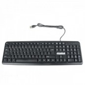 Tastatura 4World, 104 taste, USB, Neagra Componente & Accesorii