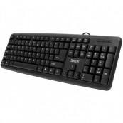 Tastatura Spacer SPKB-S62, 104 taste, Anti-Spill, Negru Componente & Accesorii