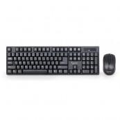 Wireless Kit Tastatura + Mouse GEMBIRD KBS-W-01, US layout, Negru Tastaturi