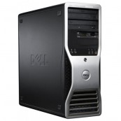 Workstation Dell Precision T3500, Xeon Quad Core W3520 2.66GHz - 2.93GHz, 6GB DDR3, HDD 500GB SATA, DVD-ROM, AMD Radeon HD 7350 1GB GDDR3