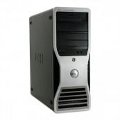 Workstation DELL Precision T5400, Intel Xeon Quad Core X5450 3.00GHz, 8GB DDR2, 250GB SATA, DVD-ROM, Second Hand Calculatoare