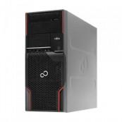 Workstation FUJITSU CELSIUS W510, Intel Core i5-2400S 2.5GHz - 3.3GHz, 4GB DDR3, 250 GB HDD, DVD-ROM + Windows 10 Home, Refurbished Calculatoare