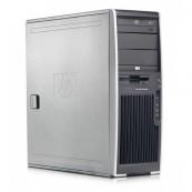 Workstation HP XW6200, 2 X XEON 3.2 Ghz, 2Gb DDR2 ECC, 40GB, DVD-ROM, NVIDIA QUADRO NVS 440, Second Hand Calculatoare