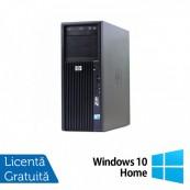 Workstation HP Z200, Intel Core i5-650 3.20GHz - 3.46GHz, 4GB DDR3, HDD 250GB, Intel HD Graphics On-Board, DVD-RW + Windows 10 Home