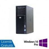 Workstation HP Z200, Intel Core i5-650 3.20GHz - 3.46GHz, 4GB DDR3, HDD 250GB, Intel HD Graphics On-Board, DVD-RW + Windows 10 Pro