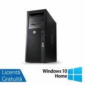 Workstation HP Z220 Tower, Intel Dual Core i3-2100 3.10GHz, 4GB DDR3, HDD 500GB SATA, Intel Integrated HD Graphics 2000, DVD-RW + Windows 10 Home