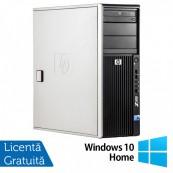 WorkStation HP Z400, Intel Xeon Quad Core W3520 2.66GHz-2.93GHz, 8GB DDR3, 500GB SATA, Placa Video nVidia GT640/1GB, DVD-RW + Windows 10 Home