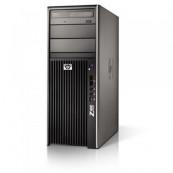 WorkStation HP Z400, Intel Xeon Quad Core W3520, 2.6Ghz, 4Gb DDR3 ECC, 250GB SATA, DVD-RW, Placa video nVidia GeForce 9300GE 256MB DDR2