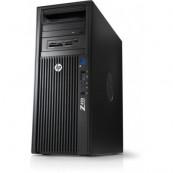 Workstation HP Z420, CPU Intel Xeon E5-1650 V2 3.50GHz-3.90GHz HEXA Core, 128GB DDR3 ECC, SSD 240GB + SSD240GB + 2TB HDD, nVidia Quadro K5000/4GB GDDR5 256biti, Second Hand Calculatoare