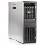 Workstation HP Z600, Intel Xeon Quad Core E5540 2.53GHz-2.80GHz, 8GB DDR3 ECC, 1TB SATA, nVidia GT640/1GB GDDR3