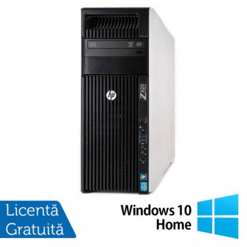 Workstation HP Z620, 1x Intel Xeon E5-1620 3.60GHz-3.80GHz Quad Core 10MB Cache, 32GB DDR3 ECC, 240GB SSD + 1TB HDD, nVidia Quadro 4000/2GB GDDR5 + Windows 10 Home, Refurbished