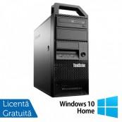 Workstation Lenovo ThinkStation E31 Tower, Intel Core i7-3770 3.40GHz-3.90GHz, 12GB DDR3, 120GB SSD + 1TB HDD, AMD Radeon HD 7350 1GB GDDR3 + Windows 10 Home