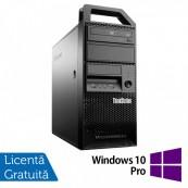 Workstation Lenovo ThinkStation E31 Tower, Intel Core i7-3770 3.40GHz-3.90GHz, 24GB DDR3, 240GB SSD + 2TB HDD, AMD Radeon R7 350, 4GB GDDR5 128-Bit + Windows 10 Pro