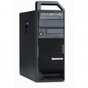 Workstation Lenovo ThinkStation S20 Tower, Intel Xeon Hexa Core X5650 2.66Ghz-3,06GHz, 8GB DDR3, SSD 120GB + 1TB HDD, nVidia NVS 315/1GB, DVD-RW