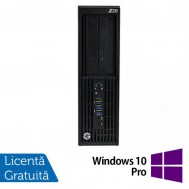 Workstation Refurbished HP Z230 Desktop, Intel Xeon E3-1245 v3 3.40GHz, 8GB DDR3, 500GB SATA, DVD-RW, Placa video Nvidia Quadro K600 1GB DDR3 + Windows 10 Pro