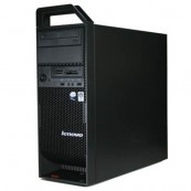 Workstation Refurbished Lenovo ThinkStation S20 Tower, Intel Xeon E5504 2.00Ghz, 12Gb DDR3, ATI HD5450/512MB, 2x750GB HDD, DVD-RW + Windows 10 Home Calculatoare