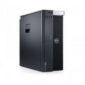 Workstation Second Hand DELL Precision T3600 Intel Xeon Quad Core E5-1620 3.60GHz-3.80 GHz 10MB Cache, 24 GB DDR3 ECC, 2TB HDD SATA, Placa Video Nvidia Quadro 4000 2GB/GDDR5/256biti