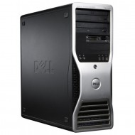 Workstation Dell Precision T3400, Intel Core 2 Duo E6550 2.33GHz, 4GB DDR2, 160GB SATA, nVidia Quadro FX550/128MB, DVD-RW