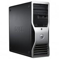 Statie Grafica Dell Precision T3500, Xeon Quad Core W3530, 2.80G - 3.06GHz, 12GB DDR3, HDD 1TB SATA, DVD-ROM, AMD FirePro W2100/2GB - 2 x Display Port