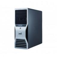 Workstation Dell T5500, Intel Xeon Quad Core E5630 2.53GHz-2.80GHz, 24GB DDR3, 2TB SATA, Placa video Gaming AMD Radeon R7 350 4GB GDDR5 128-Bit