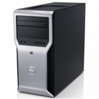 Workstation Dell Precision T1600, Intel Xeon Quad Core E3-1225 3.10GHz, 8GB DDR3, 240GB SSD, DVD-ROM