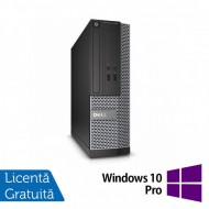 Calculator DELL OptiPlex 3010 Desktop, Intel Core i3-3220 3.30GHz, 4GB DDR3, 250GB SATA, HDMI, DVD-RW + Windows 10 Pro
