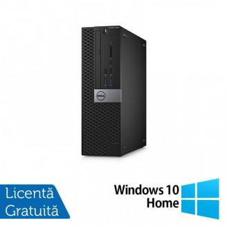 Calculator DELL Optiplex 5040 SFF, Intel Core i7-6700T 2.80GHz, 8GB DDR3, 120GB SSD, DVD-RW + Windows 10 Home