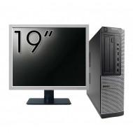 Pachet Calculator DELL 790 Desktop, Intel Core i5-2400 3.10GHz, 4GB DDR3, 250GB SATA, DVD-ROM + Monitor 19 Inch