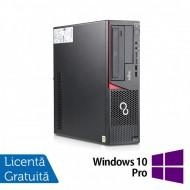 Calculator FUJITSU SIEMENS E720 Desktop, Intel Core i3-4130 3.40GHz, 8GB DDR3, 500GB SATA, Placa video Gaming AMD Radeon R7 350 4GB, DVD-RW + Windows 10 Pro