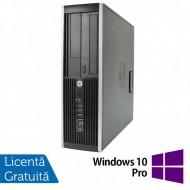 Calculator HP Compaq Pro 6305 SFF, AMD A10-5800K 3.80GHz, 4GB DDR3, 500GB SATA, DVD-RW + Windows 10 Pro