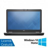 Laptop DELL Latitude E6540, Intel Core i7-4800MQ 2.70GHz, 8GB DDR3, 500GB SATA, 15.6 Inch Full HD, Tastatura Numerica, Webcam + Windows 10 Home