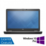 Laptop DELL Latitude E6540, Intel Core i7-4800MQ 2.70GHz, 8GB DDR3, 500GB SATA, 15.6 Inch Full HD, Tastatura Numerica, Webcam + Windows 10 Pro