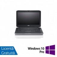 Laptop DELL Latitude E5430, Intel Core i5-3320M 2.60GHz, 4GB DDR3, 320GB SATA, DVD-ROM, 14 Inch, Fara Webcam + Windows 10 Pro