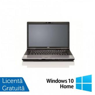 Laptop FUJITSU SIEMENS E752, Intel Core i5-3210M 2.50GHz, 4GB DDR3, 120GB SSD, DVD-RW, 15.6 Inch, Fara Webcam + Windows 10 Home