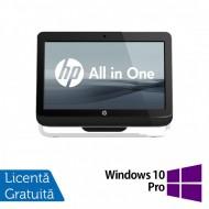 All In One HP Pro 3520, 20 Inch, Intel Core i3-3220 3.30GHz, 4GB DDR3, 120GB SSD, DVD-RW + Windows 10 Pro