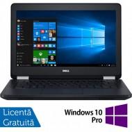 Laptop DELL Latitude E5270, Intel Core i5-6300U 2.40GHz, 8GB DDR4, 240GB SSD, 12.5 Inch, Webcam + Windows 10 Pro