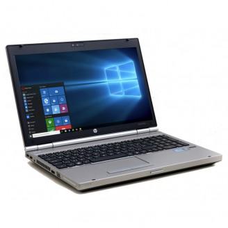 Laptop Hp EliteBook 8560p, Intel Core i7-2620M 2.70GHz, 4GB DDR3, 120GB SSD, DVD-RW, 15.6 Inch, Webcam, Tastatura Numerica, Grad A-