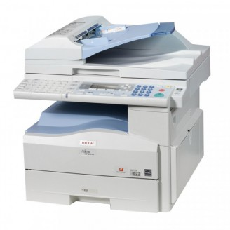 Multifunctionala Noua Laser Monocrom Ricoh Aficio MP201, Duplex, A4, 20ppm, 600 x 600, Copiator, Scanner, Fax, USB, Retea