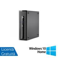 Calculator HP 400 G1 SFF, Intel Core i7-4770 3.40GHz, 8GB DDR3, 500GB SATA, DVD-RW + Windows 10 Home