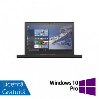 Laptop Lenovo Thinkpad X260, Intel Core i5-6200U 2.30GHz, 8GB DDR4, 500GB SATA, 12.5 Inch Webcam + Windows 10 Pro