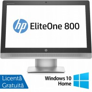 All In One HP EliteOne 800 G2, 23 Inch Full HD, Intel Core i5-6500 3.20GHz, 16GB DDR4, 240GB SSD, Webcam + Windows 10 Home