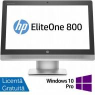 All In One HP EliteOne 800 G2, 23 Inch Full HD, Intel Core i5-6500 3.20GHz, 8GB DDR4, 120GB SSD, DVD-RW, Webcam + Windows 10 Pro